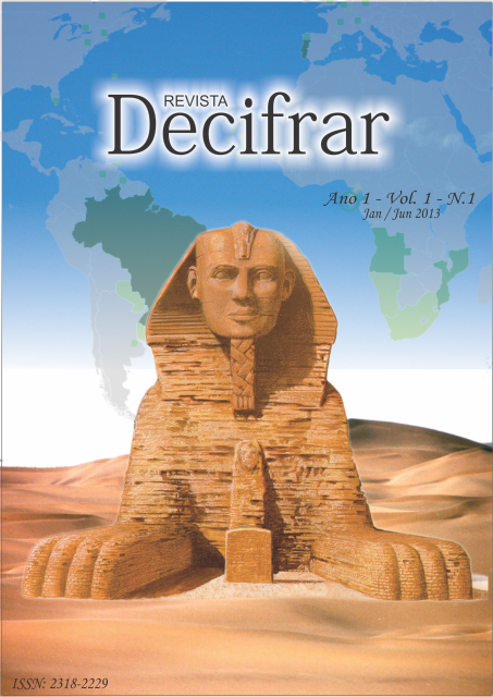 Revista Decifrar Manaus/AM Vol. 01, nº 01 (Jan/Jun-2013)